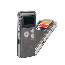 16GB Digital Voice Recorder Mini USB Flash Digital Audio Voice Recording 650Hr Dictaphone MP3 Player MP3 Player Rechargeable(China)