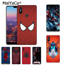 MaiYaCa Marvel Spider-Man Spider Man Comics Coque Phone Case Xiaomi Mi 6 Mix2 Mix2S Note3 8 8SE Redmi 5 5Plus Note4 4X Note5