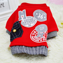 Warm Dog Coat Jacket Pet Dog Clothes Winter Puppy Clothing for Small Dogs Hoodie Puppy Outfits for Chihuahua Yorkie 8BY30(China)