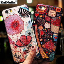KaiNuEn luxury 3d back coque cover case for iphone 5 5s se 5se s soft silicone silicon phone cases accessories for apple iphone5(China)