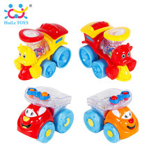 2pcs/Lot High Quality Children Racing Car Street Sweepers And Truck Baby Mini Cars Cartoon Toy 4 Color(China)