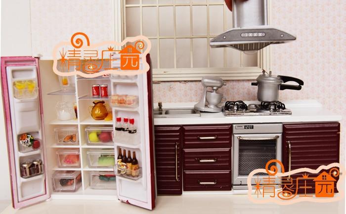 1:12 Cute MINI Dollhouse Miniature Adornment Simulation kitchen sets<br><br>Aliexpress