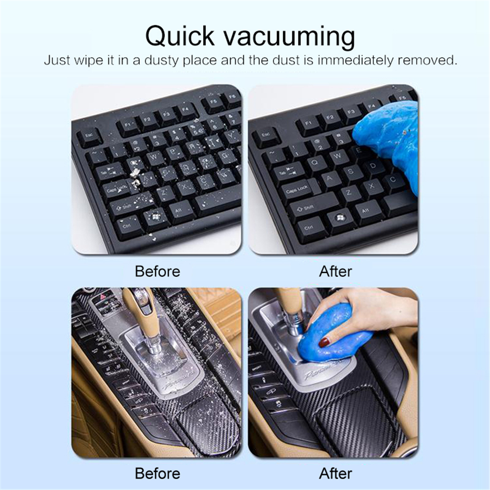 Creative Magic Cleaning Glue Stronge Dust Gap Cleaner Super Clean Slimy Gel for Auto Car Phone Laptop Pc Computer Keyboard