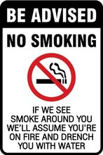 NO SMOKING,4x6 inch,Self adhesive label sticker,product code PL12, free shipping