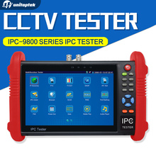 IPC-9800 Series 7 inch CCTV Tester 1080P IP AHD CVI TVI CVBS Camera Test / PoE Power Output/ HDMI out/ Built-in WIFI / Onvif etc
