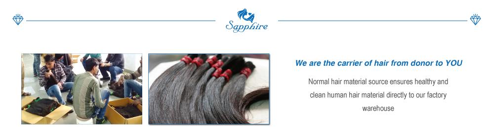 hair material import
