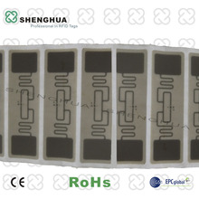 Access Control RFID Tag UHF RFID Paper Sticker Eletronic RFID Tag for Security System -2000pcs/roll