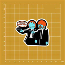 rick and morty funny angry Mr.Meeseeks Notebook refrigerator skateboard trolley case backpack Tables book PVC Car sticker