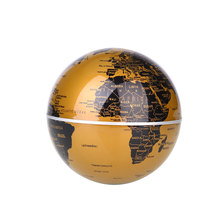 LED Light Magnetic Levitation Floating Globe English Ornaments Novelty(China)