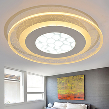 Fashion ultra-thin Acrylic LED ceiling light modern simple warm bedrooms  study room living room ceiling lamp dimming lighting