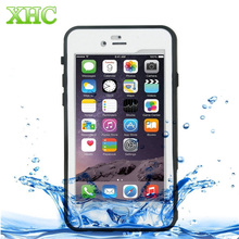 For iPhone 7 Professional and Powerful Dustproof Shockproof Life Waterproof Ultra-thin Protective Case with Lanyard