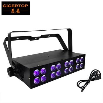 TIPTOP TP-E01 LED BAR UV 16 Light CHINA Tianxin 16x3W UV Lamp DMX 512 Protocol 5 Channels Sound/Auto Purple/Ultraviolet Rays LED