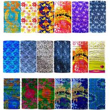 Colo Random Fashion Bandana Skull Seamless Hiphop Hijab Bandanas Headwear Scarf Magic Headband Neck Tube Ring Shawl Wrap