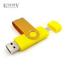 Fast speed Brand Easy Lear OTG 64gb usb flash drive for Android Smart Phone pen drive 32gb 16gb 8gb USB Stick 4gb pendrive(China)