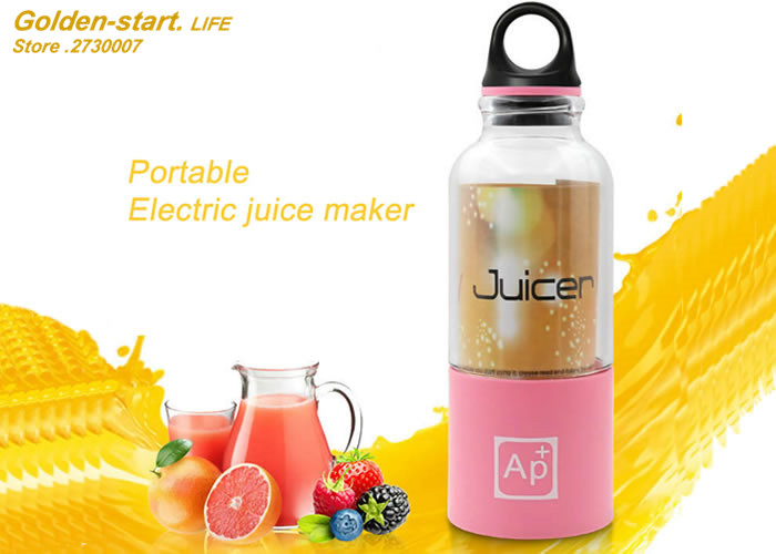 Household portable juicer  Mini multi-function electric juice  maker<br><br>Aliexpress