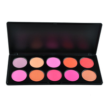10Color Makeup Blush Blusher Palette maquiagem blush palette makeup Powder Cosmetic Palette(China)