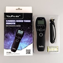 High Quality YP-880/L1 wired camera shutter Timer Remote Switch,remote control for Panasonic DSLR Camera