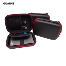 GUANHE EVA Hard Case Shockproof Carrying case Bag for WD 1TB 2TB USB 3.0 My Passport Portable External Hard Drive(China)