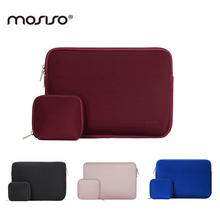 MOSISO Waterproof 11.6 13.3 14 15.6 inch Laptop Sleeve Bag Notebook Computer Handbag Case For MacBook Air Pro 11 12 13 15 Asus