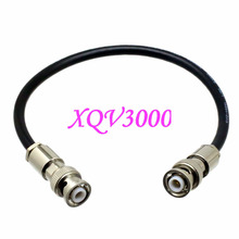 BNC M 3000V to male 3KV MHV High voltage NIM COAXIAL connector RG59 cable 3FT(China)