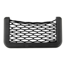 New Car Net Bag Car Organizer Nets 15X8cm Automotive Pockets With Adhesive Visor Car Bag Storage for tools Mobile phone Hot sale