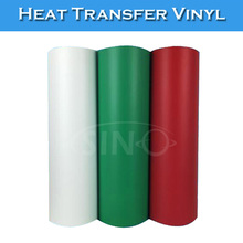 SINOVINYL Korea Flock T-shirt Vinyl Film Heat Press Cloth Heat Transfer Vinyl Rolls