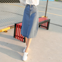 Jupe Denim Midi Skirt Plus Size Denim Skirts Long Jeans Summer Style Tight Pencil Saia Clubwear Gonna Faldas Largas Fiesta