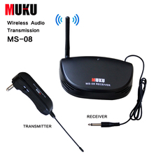 MUKU MS-08 Electric Guitar Bass Wireless System Wireless Audio Transmission for All types of guitar & basses Guitar Accessories