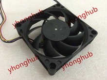 Free Shipping Emacro Foxconn PVA070E12L, -P02-AE DC 12V 0.2A 4-wire 4-pin connector 140mm 70x70x15mm Server Cooling Square fan(China)