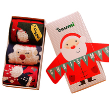 Brand( 3 pieces/Lot ) New Christmas socks Fashion cotton happy socks Funny socks men&women meia for free shipping as gift