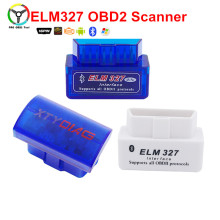 Car-detector Diagnostic Tool Super Mini ELM327 OBD2 V2.1 Bluetooth Code Reader Scanner OBD II Bluetooth Adapter Tools(China)