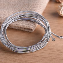 4 Pcs Bass Strings Bass Guitar Parts Accessories Guitar Strings Stainless Steel Silver Plated Gauge Bass Guitar(China)