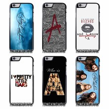 pencer Hannah Aria Pretty Little Liar Cover Case for IPhone 4 4s 5 5s 5c se 6 6s 7 8 X plus Rubber TPU Silicon soft(China)