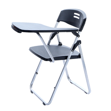 High Quality Modern Simple Office Chair With Writing Board Staff Conference Training Folding Chair Portable Stable Student Chair(China)