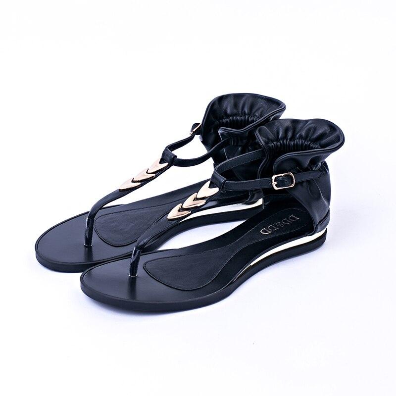 Ladies-Shoes Hot Sale Women Sandals 2016 Fashion Brand Vintage Flats Summer Style OUR Size 36-41 Ladies-Shoes Tong Avec Talon<br><br>Aliexpress