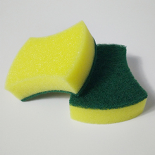 High Quality Two-side Arc Magic Sponge Eraser Dish Washing Cleaning Esponja Limpeza Kitchen Office Keyboard Cleaner Scouring Pad
