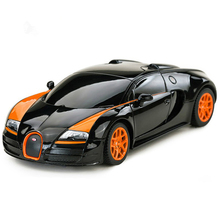4CH 1:24 Mini Radio Controlled Cars Machines On The Remote Control Bugatti Grand Sport Vitesse Without Original Box 47009