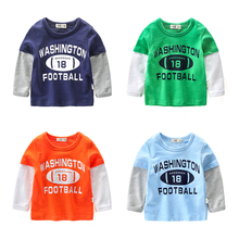 Baby T-shirts autumn children's bottoming shirts 2017 new boys tops cotton
