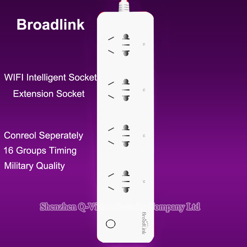 BroadLink MP1 Smart Power Strip Socket Separately Controlled WiFi Remote Control 4-Outlet Power Socket for Smart Home Automation(China (Mainland))