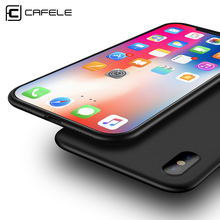 CAFELE Original Phone case for iphone X Ultra Thin Cute colors PP cases for Apple iphone X Fashion flexibility back Case(China)