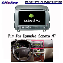 Android 7.1 2G RAM Hyundai Sonata NF 2006~2008 Car Radio Audio Video Multimedia DVD Player WIFI DVR GPS Navi Navigation