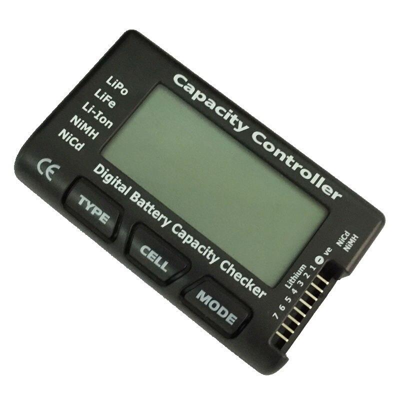 Monitor Digital Battery Checker Capacity Controller Tester Voltage Detector