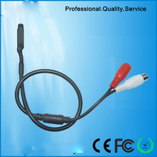 MIni High Microphone Security Audio Mic DC Power Cable Wide Range For CCTV DVR(  CS-6)