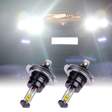 Buy 2 X H7 20W 360 degrees 4SMD Car Headlights High Power LED Fog Lamp Headlamp 720LM Auto Front Bulb 6000K Car Lighting for $7.35 in AliExpress store