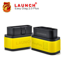 LAUNCH X431 EasyDiag 2.0 Plus for IOS & Android Code Reader X-431 OBDII Easy Diag Better than ELM Idiag Elm327 Online Update