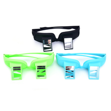 2017 Creative Design Lazy Periscope Horizontal Reading TV Sit View Glasses On Bed Lie Down Bed Prism Spectacles Lazy Glasses(China)