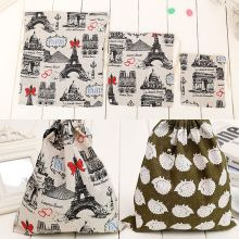 Premium Plain Canvas Storage Bag Eco-Friendly Shopping Tea/candy/smoking Package Drawstring Bag Small Cloth Bag Gift