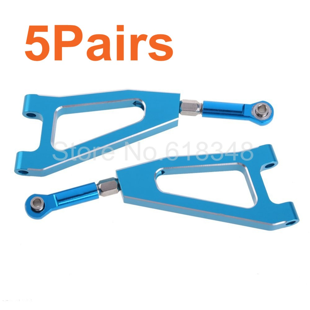 Wholesale 5Pairs/Lot HSP 860002 Upgrade Parts For 1:8 RC Model Car Front Upper Suspension Arm Truck Upgrade Parts CNC(China (Mainland))