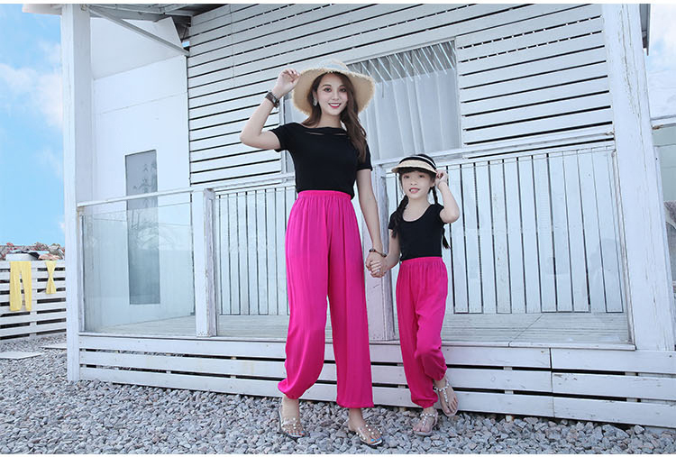 Baggy Pants Women Plus Size Women Pants 19 Summer Women Solid Color Casual Loose Harem Pants Trousers Pantalon Femme Pantalon 18