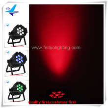 6lot Best price led par64 light 7x18w led par uv light led par light dmx